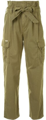 Mother Greaser Paperbag Pleated Cargo trousers