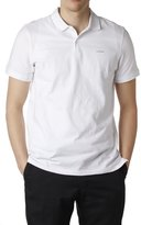 Calvin Klein Men's 2 Button Cotton Polo Shirt Short Sleeve