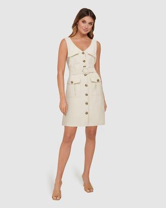 Forever New Brianna Utility Mini Dress