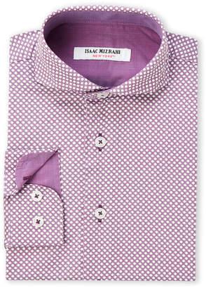 Isaac Mizrahi Boys 4-7) Geometric Long Sleeve Dress Shirt