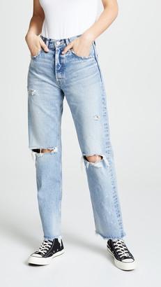 Moussy MV Odessa Wide Straight Jeans