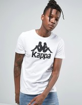 Kappa T-shirt With Large Logo
