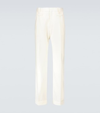 Casablanca Ticket pocket pleated pants