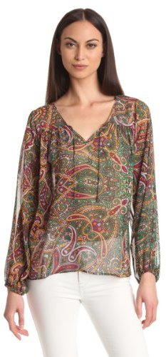 Nieves Lavi Women's Collection Tunic Blouse