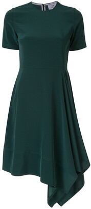 CK Calvin Klein Asymmetric Hem Dress