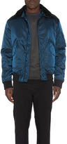 Isaora G-1 Aviator Jacket With Sheep Shearling