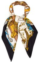 Hermes Musee Square Scarf