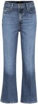 J Brand Julia high-rise cropped jeans