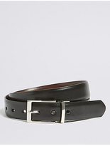 M&S Collection Square Buckle Reversible Belt