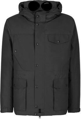 DKNY Standard Fold Into Collar Hood Jacket