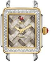 Michele Women's 'Deco 16 Diamond' Two-Tone Watch Case, 29Mm X 31Mm
