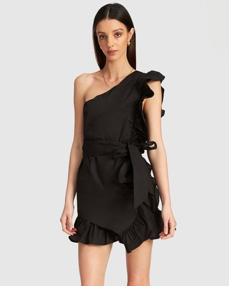 URBAN RESEARCH Sliding Ruffle Dress