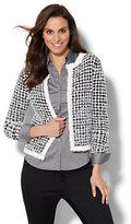 New York & Co. Tweed Sweater Jacket