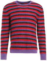Marc Jacobs STRIPED Jumper purple/red/black
