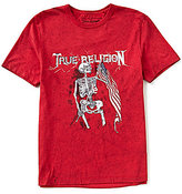 True Religion Short-Sleeve Americiana 4th Flag Graphic T-Shirt