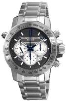Raymond Weil Men's Automatic Watch with Grey Dial Chronograph Display and Silver Stainless Steel Bracelet 7800-TI-05607