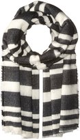 BCBGeneration Women's Striped Square Scarf
