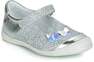 GBB SACHIKO girls's Shoes (Pumps / Ballerinas) in Silver