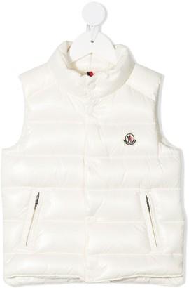 Moncler Enfant Logo Padded Gilet Jacket