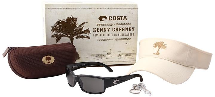 Costa - Kenny Chesney Limited Run Cabillito 400 Plastic (Black/Gray 400 Plastic Lens) - Eyewear
