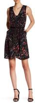 Dex Full Zip Printed Dress