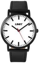 Limit Black Case Strap Watch 5457.02