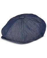 Sean John Men's Chambray 8-Panel Newsboy Hat