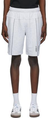 adidas Grey Crew Shorts