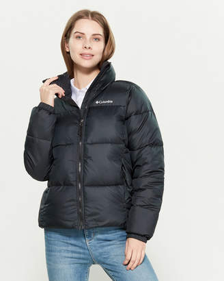 Columbia Quilted Stand Collar Jacket