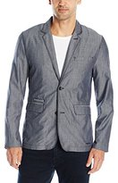 Calvin Klein Jeans Men's Chambray Sportcoat