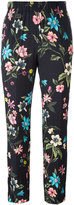 Incotex floral print cropped trousers - women - Viscose - 40