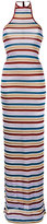 DSQUARED2 metallic stripe maxi dress - women - Polyamide/Polyester/Spandex/Elastane/Viscose - S