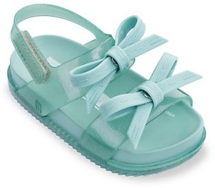 Mini Melissa Baby Girl's Little Girl's Mini Cosmic Bow Sandals