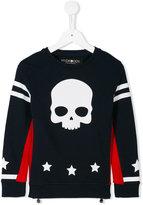Hydrogen Kids skull print sweatshirt