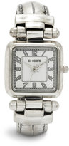 Chico's Silver Ox Cuff Watch