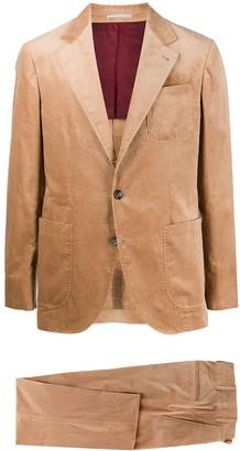 Brunello Cucinelli Single-Breasted Corduroy Suit