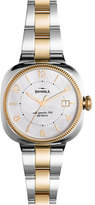 Shinola 36mm Gomelsky Watch with Bracelet Strap, Gold