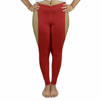 ArtVerse NFS San Francisco Football Stripes Women's Leggings - Suede X Large