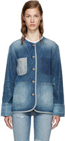 Rag & Bone Blue Denim Santa Cruz Jacket