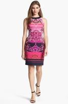 Adrianna Papell Digital Print Dress