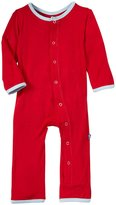 Kickee Pants Applique Coveralls (Baby) - Balloon Tricycle-Preemie