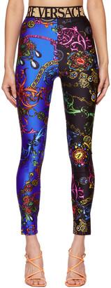 Versace Jeans Couture Multicolor Regalia Baroque Leggings