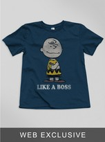 Junk Food Clothing Kids Boys Like A Boss Tee-nwny-l