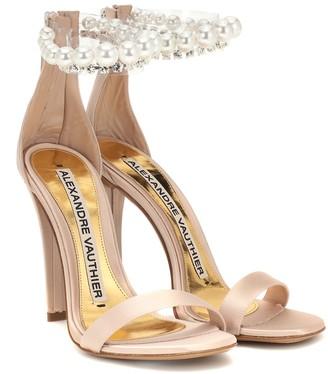 Alexandre Vauthier Roro embellished satin sandals
