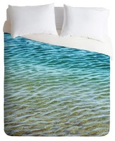 DENY Designs Ombre Sea Lightweight Duvet Cover
