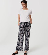 LOFT Tall Jasmine Fluid Drawstring Pants