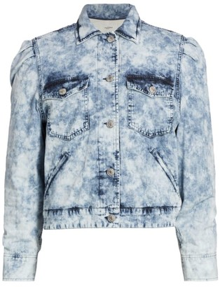Etoile Isabel Marant Iolinea Acid Wash Denim Jacket