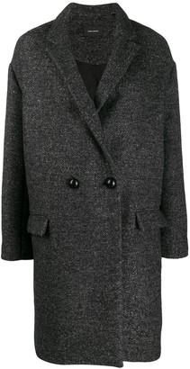 Isabel Marant Boxy Fit Double Breasted Coat