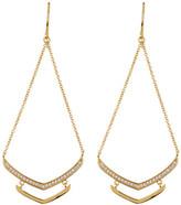 Gorjana Cress CZ Shimmer Drop Earrings