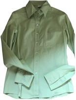 Fay Green Cotton Top for Women